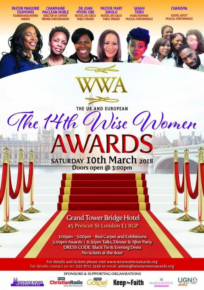 14th Wise Women Awards @ Grand Tower Bridge Hotel | England | United Kingdom