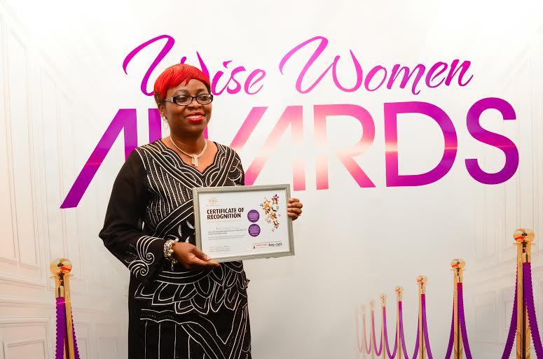 Awards Recipient Pastor Adepeju Oluyomi