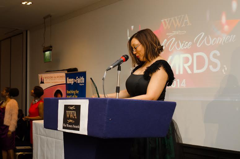 Awards sponsor Elizabeth Stobbes