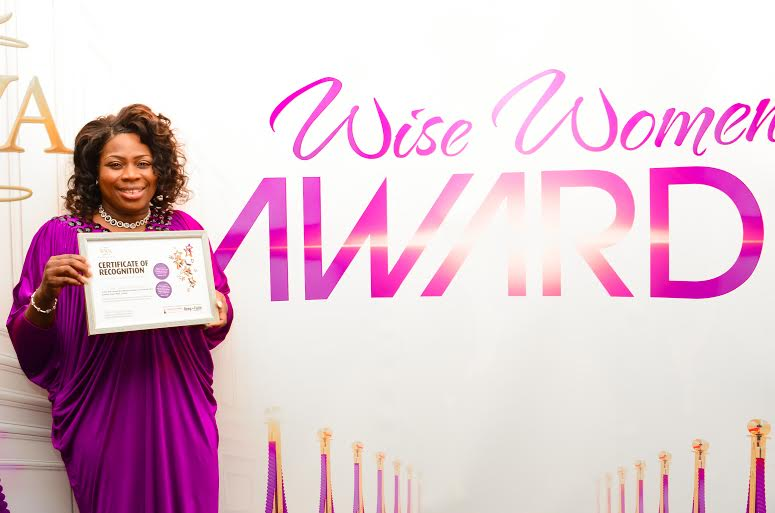 Certificate of Recognition Pastor Grace Oludoyi