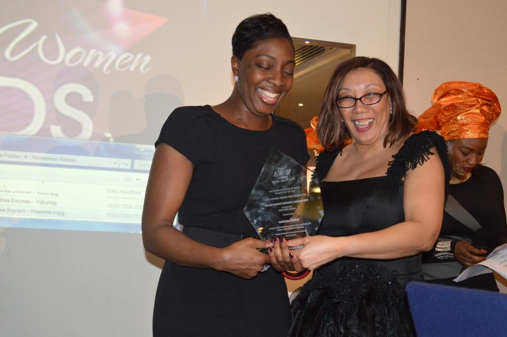 Esther Lugungu award recipient
