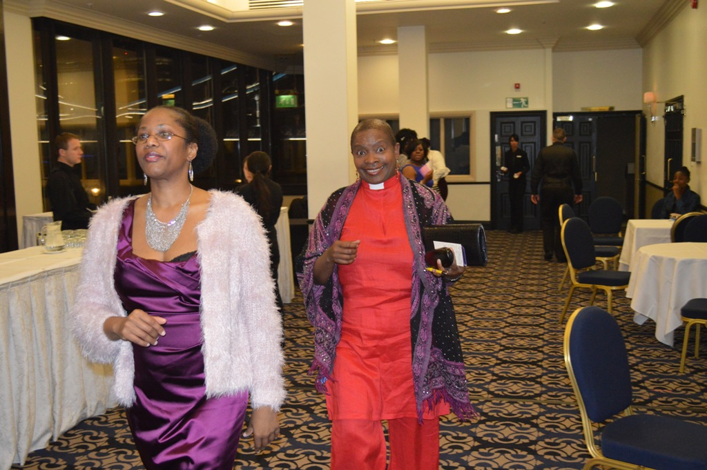 Marcia Dixon and Rev Rose Hudson Wilkin - Chaplain for Her Majesty Queen of England and the House of Commons