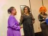 Barrister Jennifer Obaseki presenting and award