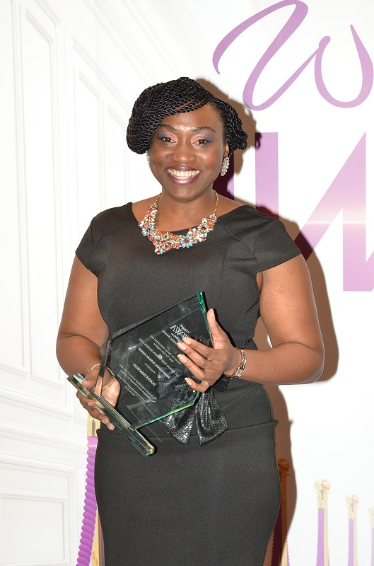 Gladys Famoriyo, winner Inspirational Woman of the Year Award