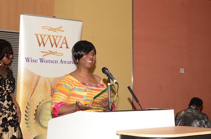 Pastor Esther Manu, winner of the Naomi Award