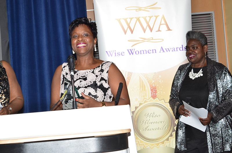 Yvette McDonald, winner Woman in the Community Award