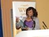 Chipema Chitambala with her Christian Leadership Award, sponsored by Obaseki Solicitors